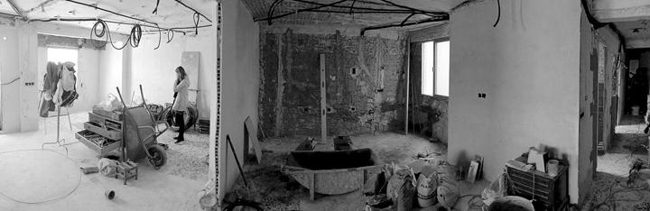 Muebles De Baño Naxani:Vivienda en El Cabanyal – Estudio Enblanc – Tecno Haus
